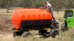 WT5000 Mobile Water Tanker