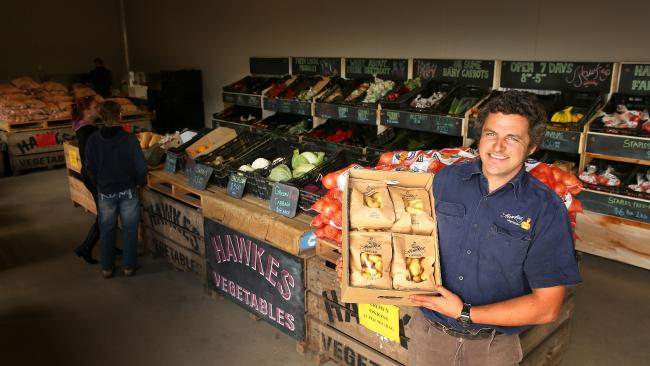 Hawkes Farm Store is a family run business that sells produce grown on site, as well as products from local growers. The aim of the store is to bring together great produce from around the Peninsula.