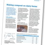 Making compost on Dairy Farms