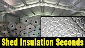 Shed Insulation Seconds