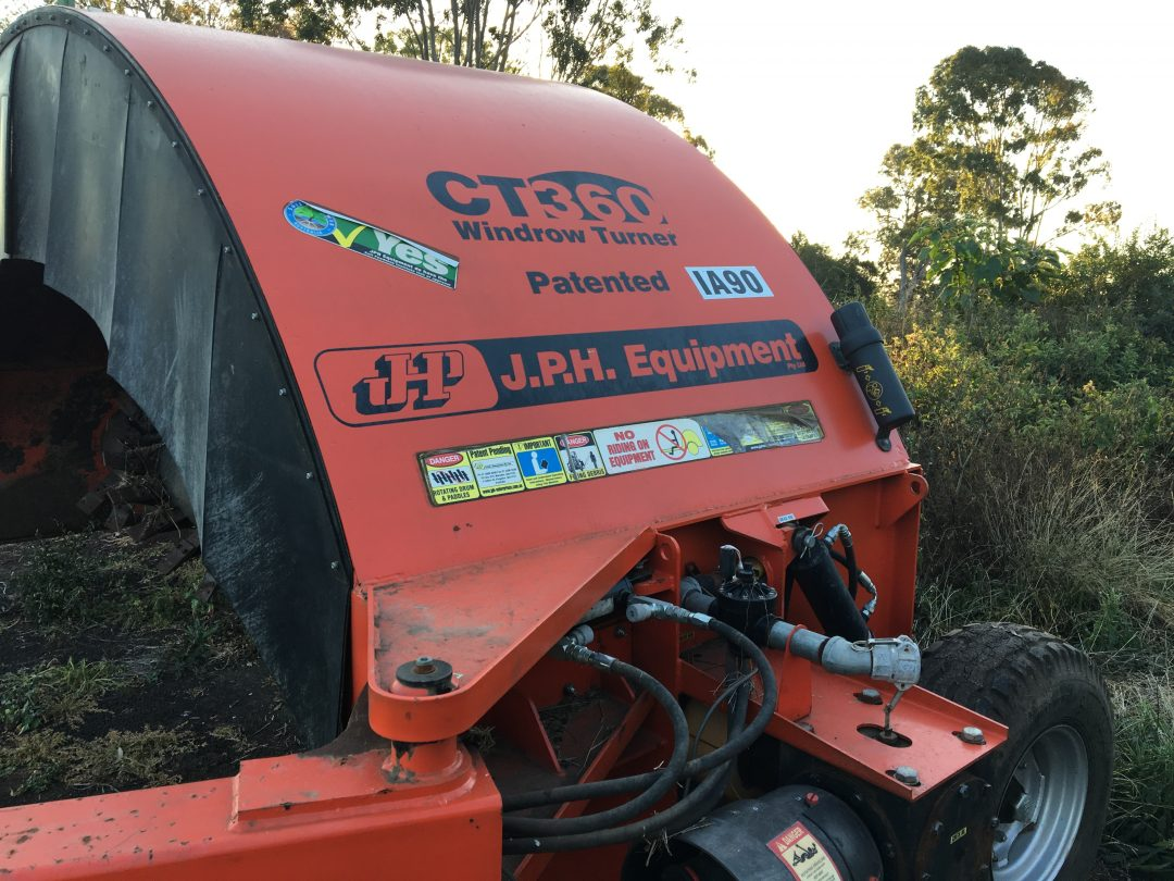 USED CT360 Windrow Turner For Sale